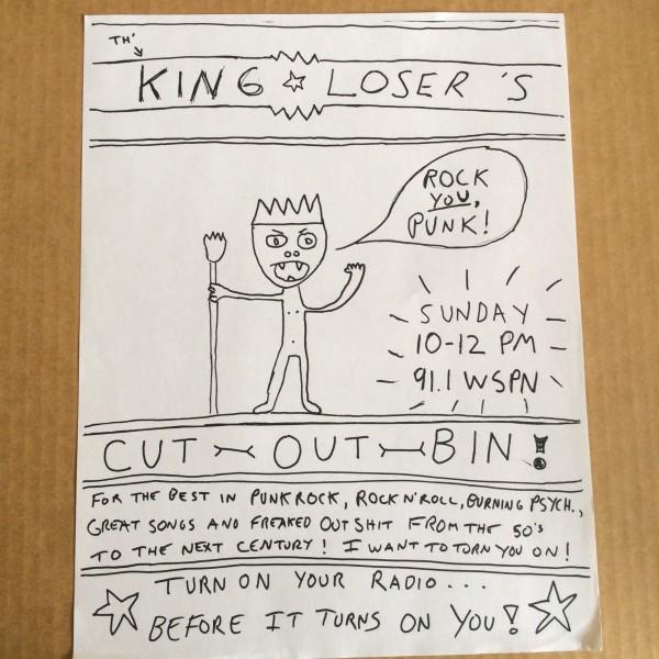 King Loser's Cutout Bin